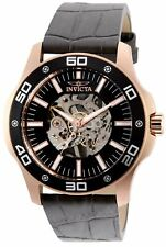 Invicta Men's Specialty 32514 45mm Black Dial Leather Watch