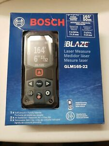 Bosch Blaze GLM165-22 Laser Measure Tool 165' Range NEW AND SEALED