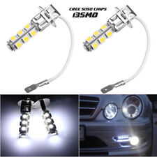 2 Bulbs (H3) 6000K Xenon White 13SMD Fog Lights DRL Driving lights Replacement