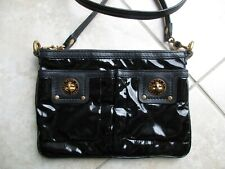 1f030ae6cecd Marc by Marc Jacobs black patent leather Totally Turnlock Percy crossbody  purse