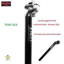 TS297 - CANOTTO/TUBO REGGISELLA UNO ALL. NERO 25,4 PER BICI 20/24/26 PIEGHEVOLE