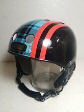 Nutcase HELMET Ski Snowboard Helmet Black Blue Palid Adult M
