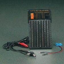 Multi Volt Output Solar Panel Energy Charge AA Batteries 3v 6v 9v 12v
