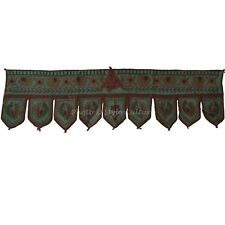 Indian Handmade Door Hanging Vintage Window Valance Embroidered Toran Valance