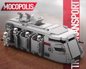 LEGO MOC Star Wars Imperial Troop Transport   PDF instructions (NO PARTS)