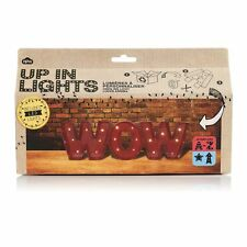 up in Lights Personalised LED Cardboard Letters Kit