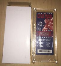 Captain America Civil War Limited Edition Premiere Ticket Cased (4211/5100) USA!