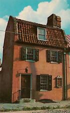 The Pink House Charleston SC Postcard