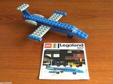 LEGO SET 657-1 Executive Jet - Vintage (1974) - Complete - NO BOX - RARE - VGC