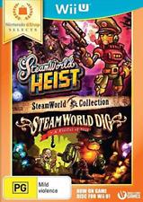 The SteamWorld Heist Dig Collection Nintendo Wii U