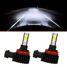 2x H8 H9 H11 LED Headlight Car Light Bulbs Conversion Hight Low Beam White Lamp