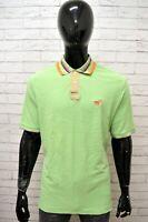 Polo Maglia Uomo HENRY COTTON'S Taglia XXL Maglietta Manica Corta Shirt Cotone