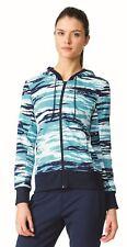 Adidas Ess AOP Felpa Blu Azuhie XS