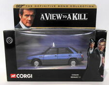 James Bond Renault Diecast Cars