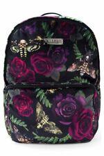 KILLSTAR Zandor Nightlife Backpack Velvet Rose Moth Gothic NWOT Defect Unisex