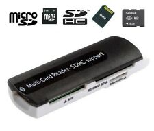 USB Folded SDHC MS SD/Mini SD Micro SD Card Reader