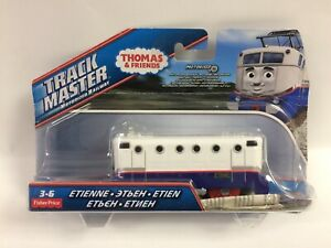 New In Damaged Box Thomas & Friends Trackmaster Etienne, Ships In Bubble Mailer