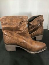 Ladies Dorothy Perkins Brown Cowboy Boots SIZE 5 #MW8