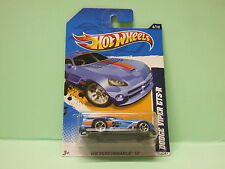 DODGE VIPER GTS-R HOT WHEELS HOTWHEELS BLISTER AMERICAIN NEUVE 1/64 3 inches