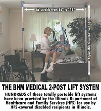 NEW - EasyTrack 2-Post Patient Lift System - Compare To Prism Hoyer Invacare