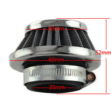 35mm Cone Air Filter Cleaner for Honda Yamaha Motorcycle Dirt Bike Scooter Buggy