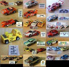 $4.75 AFX, TOMY & AJ's Oscar The Track Cleaner Slot Car Repro Sticker Sets!!!