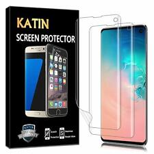 2 PACK Samsung Galaxy S10 Screen Protector High Transparency Case Friendly HD