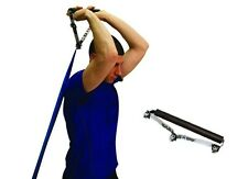 """Cando 12"""" SPORTS HANDLE TUBING Attachment Handles RESISTANCE Bands Extra Wide"""