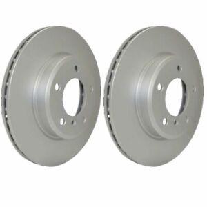 Hella Rear Brake Discs Pair 245mm 50311PRO fits Audi A4 8E5, B6 2.0 1.8 T