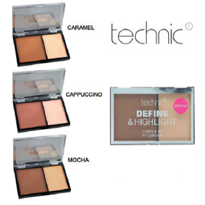 Technic Define and Highlight Contour Kit Bronzer and Highlighter duo pallette