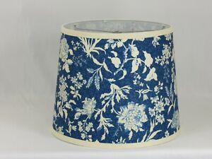 Albert Estate LTD, Floral Pattern on Blue Shade, 12 Washer