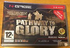 RETROGAMES NOKIA NGAGE NOKIA N-GAGE Pathway To Glory - New !! Sealed !!