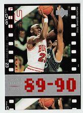 Michael Jordan 1998 Upper Deck Timeframe23 Fourth Scoring Title Basketball card