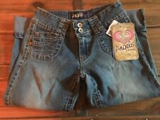 New Size 10 Girls Angels Hipster Capris