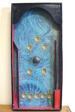 Biliardino - Flipper in legno dipinto Primi Novecento - con pallina di metallo