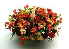 Artificial Flowers - Large Basket Arrangement