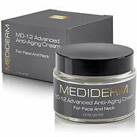 Mediderm Md-12 Anti Wrinkle Neck Lift Cream And Crepe Eraser (2 Pack)