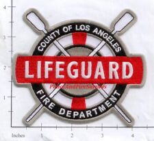 California - Los Angeles County CA Lifeguard Fire Dept Patch