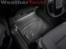 WeatherTech Floor Mat FloorLiner - Ford F-150 - 2010-2014 - 1st Row - Black