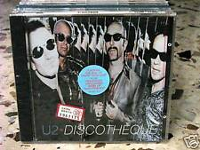 U2 - DISCOTEQUE - BRANO IN 5 VERSIONI  CD SIGILLATO IMPORT