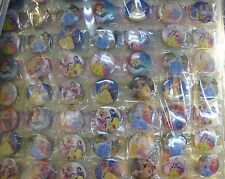 New Lot 108pcs  princess children Badge Button Pin