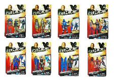 Set of 8 GI Joe 3.75 inch Retaliation figures, NEW and MINT! by Hasbro