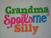 Grandma Spoils Me Silly TShirt 18 Months Boys Girls Toddler Grandson Granddaught
