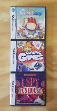 Lot of 3 DS Games Super Scribblenauts Junior Classic I Spy Fun TESTED COMPLETE