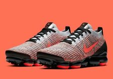 Nike Air Vapormax Flyknit 3 Trainers Uk Size 10 45 AJ6900 800 'Hyper Crimson'