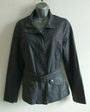 Indigo by M&S Faux Leather Style Rain Jacket