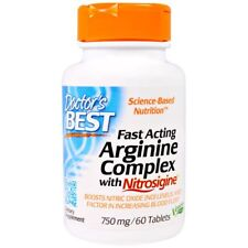 Fast Acting Arginine Complex with Nitrosigine, 750 mg (60 Tablets) - Doctor's Be