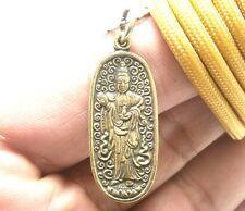 SUPER LUCKY RICH GUAN YIN KUAN QUAN IM MERCY GOD BUDDHA SUCCESS PENDANT NECKLACE