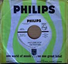 NORTHERN SOUL - FRONTIERS - DON'T COME CRYIN' b/w I ONLY HAVE.- PHILIPS - WLP 45