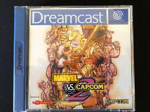 Marvel Vs Capcom 2 Original Pal España Sega Dreamcast
